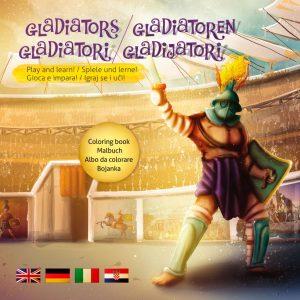 Gladijatori bojanka