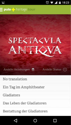 Spectacvla Antiqva